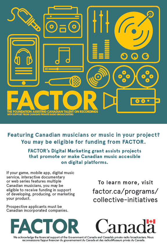 Find out about FACTOR's Digital Marketing component through our Collective Initiatives program