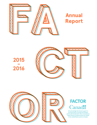FACTOR's 2015-2016 Annual Report
