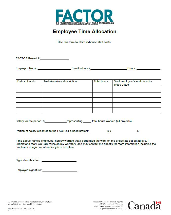 Employee Time Allocation thumb